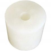 Silikonpropp / gummipropp  med 9mm hål