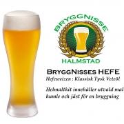 BryggNisses Hefe - En klassisk tysk veteöl