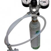 Gasanslutning för Corneliusfat CO2
