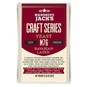 Bavarian lager Mangrove Jack M76
