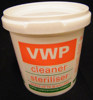 VWP Rengöringsmedel / sterilisering - 100g