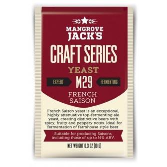 French Saison ale M29 Mangrove Jack