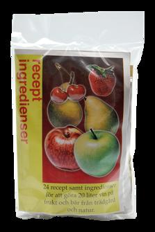 Universal jässats för egna frukter & bär