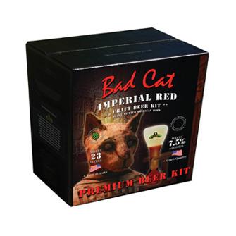 Bad Cat Imperial Red 7,5% Ölsatas Bulldog brews