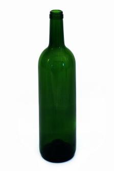 Vinflaska 75 cl grön