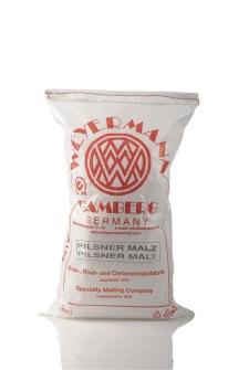 Ekologisk münchnermalt (Weyermann®), hel, 25 kg