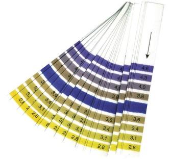 Mätsticka pH 2,8 - 4,6