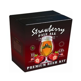 Strawberry Pale Ale - Bulldog Brews