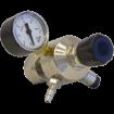 Regulator till kolsyretub - Med en manometer