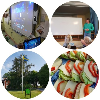 Åk 3-6 hade under fredagen en toppendag vid Vingåkers golfklubb.