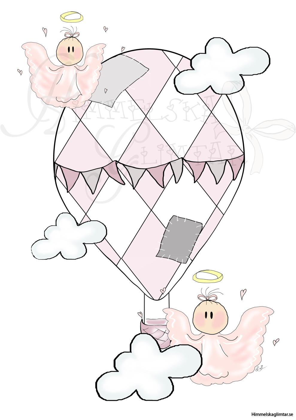 barnposter-rosa-luftballong