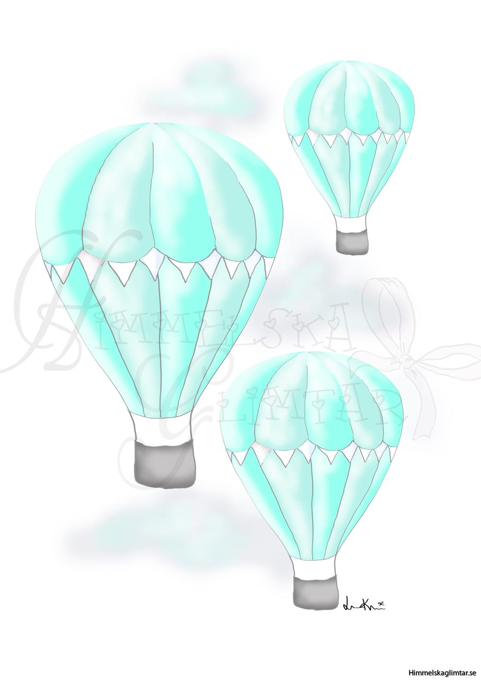 svävandeluftballongerturkos