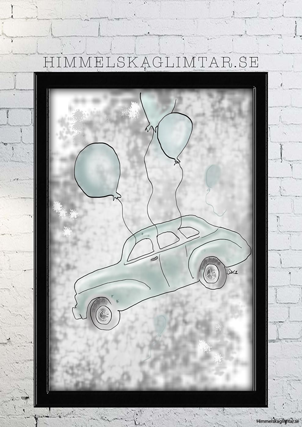 barnrum-barnrumsinredning-barnposter-poster-himmelskaglimtar-bil-pojkrum