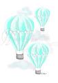 Luftballong - Olika färger - Luftballong- Turkos A3