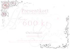 Presentkort - Presentkort värde 100 :-