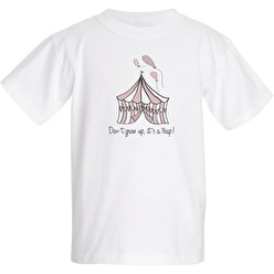 Barn T-shirt Don´t grow up, Rosa - T-shirt Don´t grow up, Rosa Xtra Large