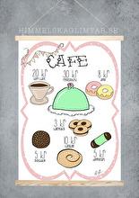 Café - Olika färger