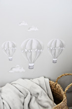 Grå Luftballong