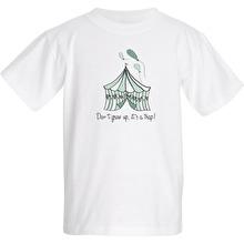 Barn T-shirt Don´t grow up, Mint