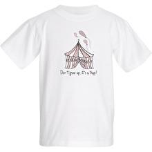 Barn T-shirt Don´t grow up, Rosa