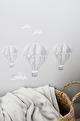 Grå Luftballong - Grå Luftballong Stor 25 cm