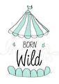 Born Wild - Olika färger - Born Wild- mint A3