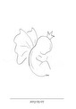 Himlens lilla ängel - Lilla ängel neutral A3