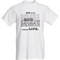 T-shirt Joh 3:16 - T-shirt Joh 3:16 Large