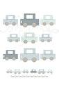 Räkna Bilar - Bilar Färg A3