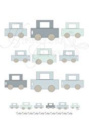 Räkna Bilar - Bilar Färg A5