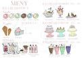 Ice Cream Bar- Meny - IceCream Meny A4