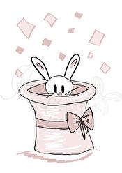 Kaninen i hatten - Kanin A5