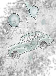 Bilen och Ballongerna - Bilen och Ballongerna A4