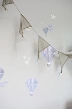 Blå Luftballong