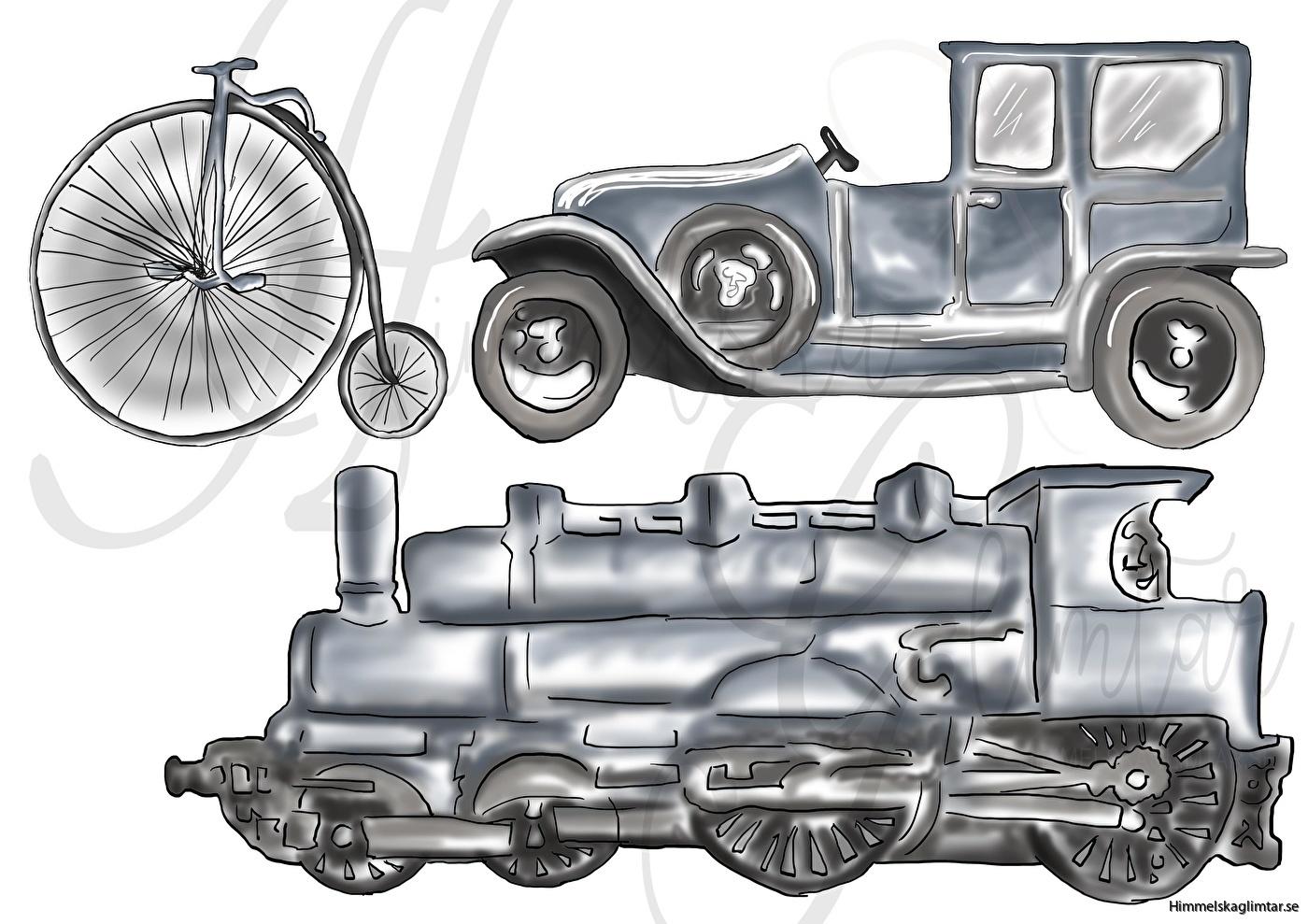 vintage transport-väggstickers-himmelskaglimtar