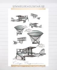 Vintage Flygmaskiner