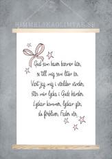 Gud som haver- rosett