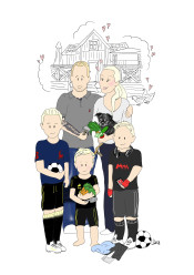 LYXIGT FAMILJEPORTRÄTT - LYX - Familjeporträtt A4 2-5 pers)