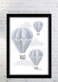 Luftballong - Olika färger