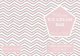 Ice Cream Bar- Meny