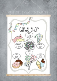 Candy Shop - Olika färger