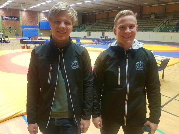 Viktor och Oskar invägda i Broby