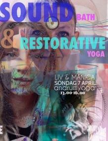 Restorative & Sound - Restorative Yoga & Soundbath