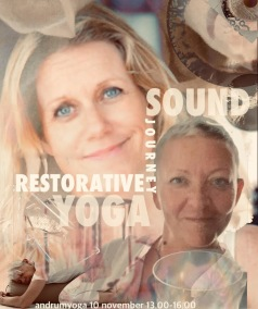 WORKSHOPS / AFTER WORK - RESTORATIVE YOGA SOUND JOURNEY