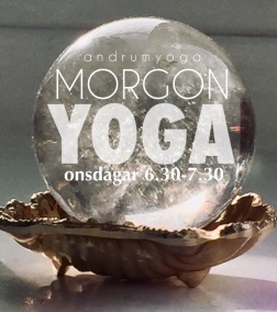 MORGON YOGA / YIN MOMENT CRYSTALSOUND - Morgon YOGA magic Onsdag 6.30-7.30Månica