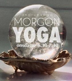 MORGON YOGA / YIN MOVEMENT CRYSTALSOUND - Morgon YOGA medicin Onsdag 6.30-7.30Månica