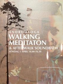 WORKSHOPS / AFTER WORK - WALKING MEDITATION & AFTERWALK SOUNDBATH