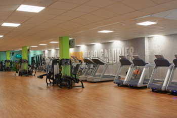 Gymmet i Gävle centrum