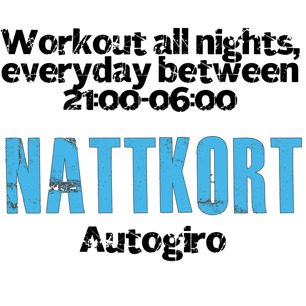Nattkort - Autogiro