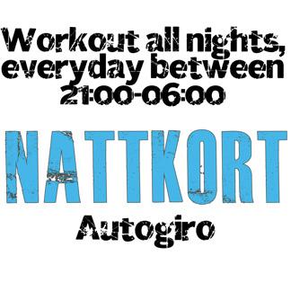 Nattkort - Autogiro - 12-mån Söderhamn, Allkortet